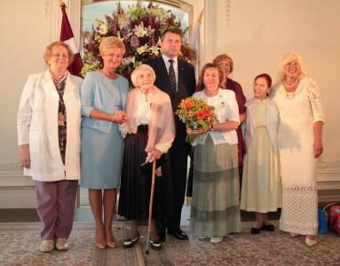 Centrā RASAs biedre Marta Melgalve, 103