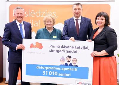 1-J.Gulbis_Lattelecom T.Mackare_RASA R.Vejonis un J.Borite_Latvijas valsts simtgades birojs