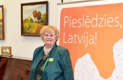 Rigas Aktivo senioru alianses vaditaja Terezija Mackare